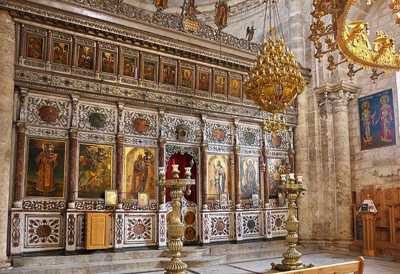Храм вмч. Георгия Победоносца (Ἱερός Ναός Ἁγίου Γεωργίου ἐν Λύδδῃ)