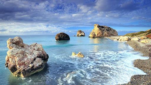 Petra Tou Romiou (Aphrodite's Rock), Paphos, Cyprus